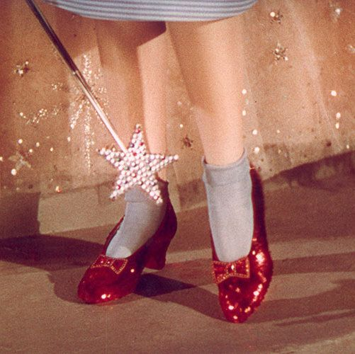 The Girl In the Ruby Slippers