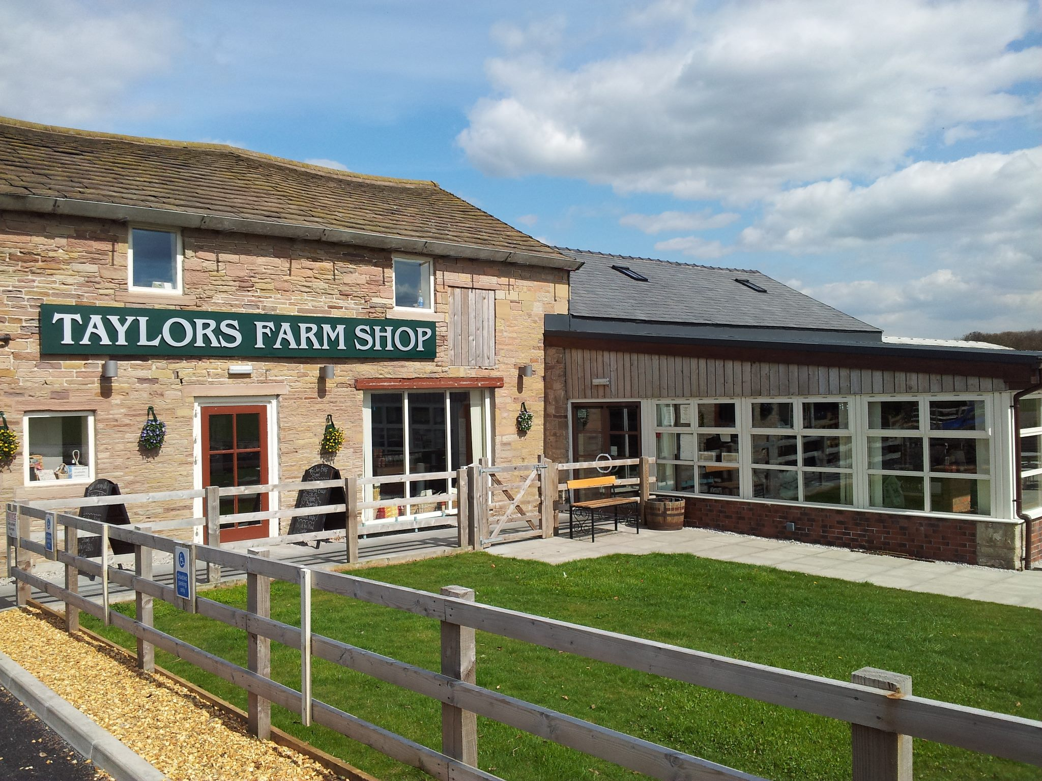 Living Locally and the Farm Shop…